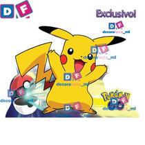 Kit Festa Pokemon Go 6 Displays Mesa Decoração Decorafesta