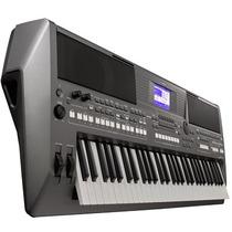 Teclado Arranjador Psr-s670 Com Fonte Bivolt Gratis Yamaha