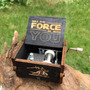 Caixa de Musica Star Wars Modelo (preto)