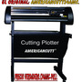 Plotter De Corte Americancutt24amc/puntero Laser, Flexi10.5.