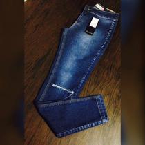 Calça Jeans Revanche Rasgada No Joelho