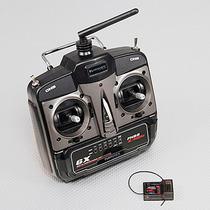 Radio Turnigy 6x M2 6 Canais 2.4ghz Fhss Com Receptor Xr7000