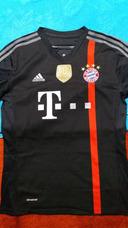 92935564ff Camisa Retrô Do Bayern Munique Alemanha - Camisas de Times Alemães ...