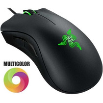 Mouse Razer Gamer Deathadder Chroma Luz Rgb Dpi Lol Dota Cs