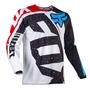 Jersey Fox 180 Nirv Rojo Talla L Motocross Mtb Downhill