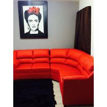 Sala 3 2 1 En Tacto Piel Cualquier Color Diseño Exclusivo!