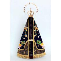 Manto Especial Papa Francisco Nossa Senhora Aparecida 37 Cm