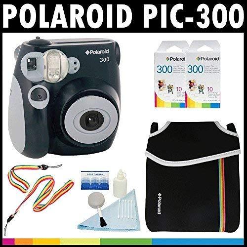 6a562c43fec43 Polaroid Cámara Analógica De Película Instantánea Pic-300 ...