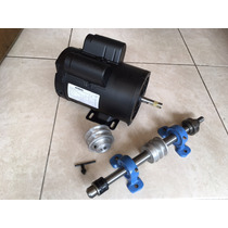 Kit De Motor 3hp + Mandril + Polea Para Sierra De Banco 5/8