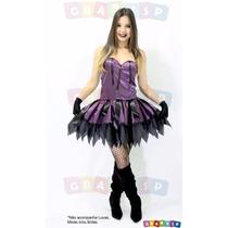 Fantasia De Bruxa Adulto Halloween Bruxinha Dia Das Bruxas