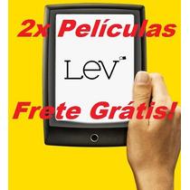 Frete Grátis! 2x Películas Leitor Digital Ebook Saraiva Lev!
