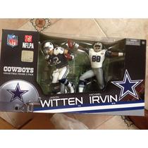 2 Pack Mcfarlane Irvin Witten Dallas Cowboys