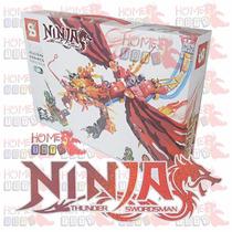 Dragão Ninja Ninjago - 299 Pçs - Compativel Com Lego
