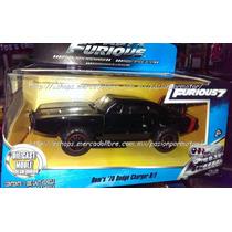 1:32 Dodge Charger Rt 1970 Off Road Rapido Y Furioso Jada