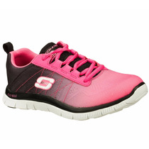 Zapatos Skechers Para Damas Flex Appeal 11882-hpbk