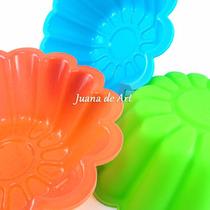 Molde De Silicona Flanera Torta Budín Gelatina Flor 23 X 7cm