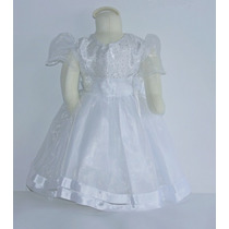 Vestido Para Bebe Para Fiesta O Bautismo Importados