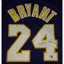 Jersey Autografiado Firmado Kobe Bryant Los Angeles Lakers