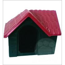 Casa Plástica Para Cães Bangalo Vermelho N°3 Pet Hobby