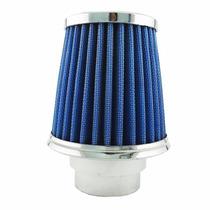 Filtro Cônico C/ Tecido Filtrante 12.0cm Altura - Azul