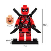 Deadpool Marvel Figura Compatible Lego Para Armar Wade