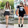 Mini Saia Shorts Social Tapa Bumbum Frontal