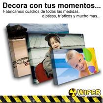 Cuadros Personalizados 40x30 Cm. Impresión Full Color Fotos