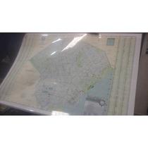 Mapa Mural Laminado C.a.b.a. 65 X 95 Microcentro