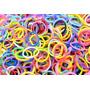 Rainbow Loom 1.800 Elásticos Coloridos + Fechos + Agulhas +