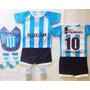 Kit Racing Bebe Camiseta Escarpin Medias Babero Y Boca River