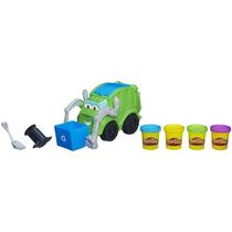 Juguete Camión De La Basura Play-doh Verde