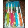Cuchillos De Sierra Multicolores Regalta