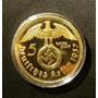 Moneda Alemania 5 Marcos Oro 1937 Replica M116j08