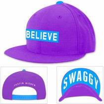 Justin Bieber - Swaggy Gorra Morada