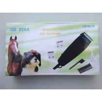 Tosquiadeira Os Star Gold Profissional Cão Gato Cavalo 110v