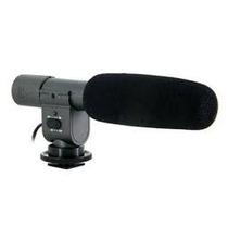 Microfone Externo Sg-108 Profissional Estereo Dslr Filmadora