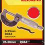 Micrómetro 25-50mm Black Jack D066