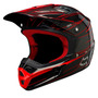 Capacete Fox V2 Pilot Race Red Fall 2009 - 55/56 Pequeno