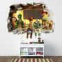 Mural Infantil En Canvas Autoadhesivo. Toy Story, Vengadores