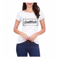 Camisa Blusa Camiseta Feminina Evangélica Moda Banda Jesus