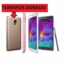 Tapa Trasera 4 Colores Para Galaxy Note 4 Original
