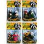 Kit Bonecos Kung Fu Panda 3 + Frete Grátis!