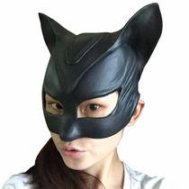 Mascara Mulher Gato Catwoman Borracha Cosplay Fantasia Festa