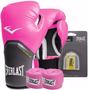 Kit Boxe/ Muay Thai Everlast Completo Pro Style Elite Rosa