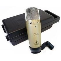 Microfone Condensador Behringer C-3 Original C3 Frete Gratis
