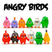 Brinquedos Angry Birds Pacote Com 12 Miniaturas