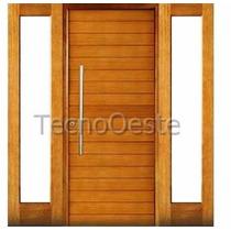 Aberturas Portada Doble Lateral Oblak 2331 Madera Maciza