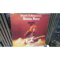 Yngwie Malmsteen Marching Out Polydor Usa Lp Excelente