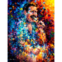 Freddy Mercury Poster Foto Grande Hd Afremov 90x119cm Queen