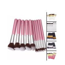 Kit Pincel Kabuki Maquiagem Importado - Pronta Entrega